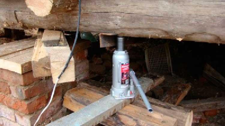 Как заменить угол деревянного дома фото