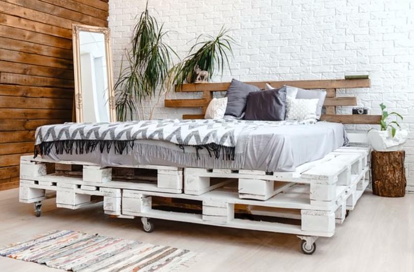 мебель из паллетов и поддонов