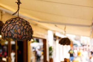 Осветительный прибор из дерева - Фото
